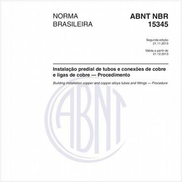NBR15345 de 11/2013