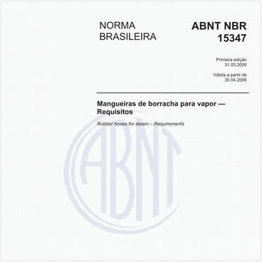 NBR15347 de 03/2006