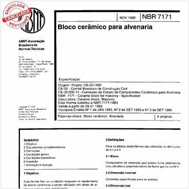 NBR7171 de 11/1992