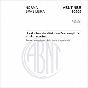 NBR10505 de 05/2017