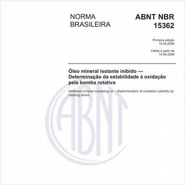 NBR15362 de 05/2006