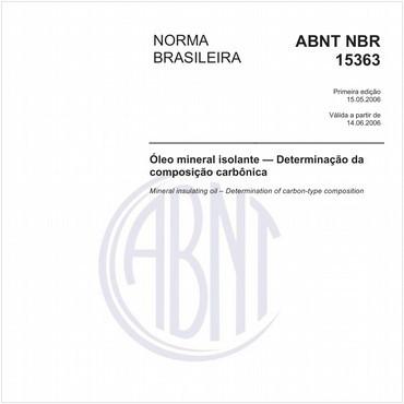 NBR15363 de 05/2006