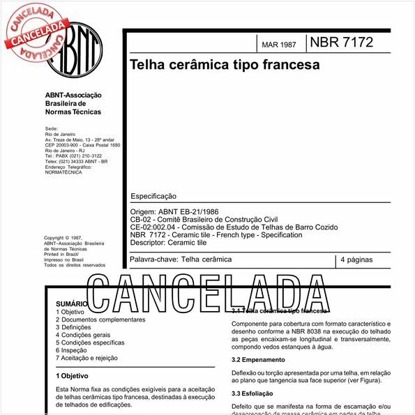 NBR7172 de 11/2005