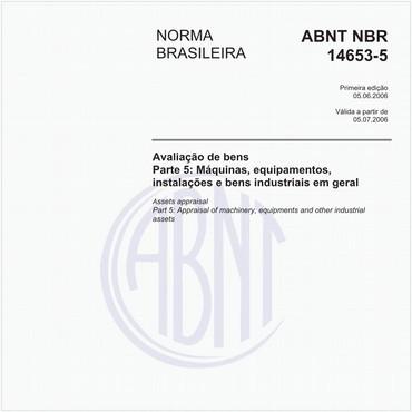 NBR14653-5 de 06/2006