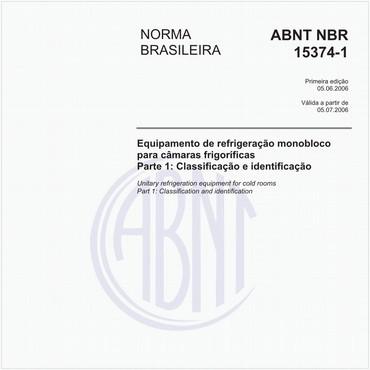 NBR15374-1 de 06/2006