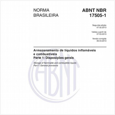 NBR17505-1 de 02/2013