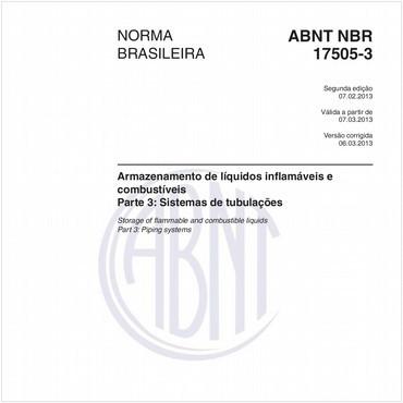 NBR17505-3 de 02/2013