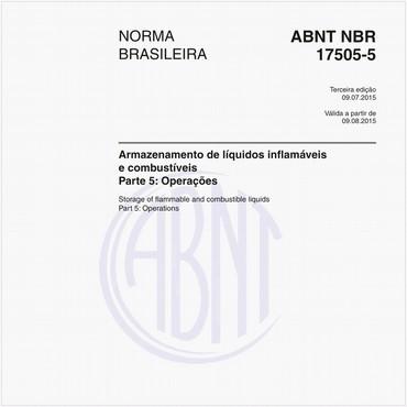 NBR17505-5 de 07/2015