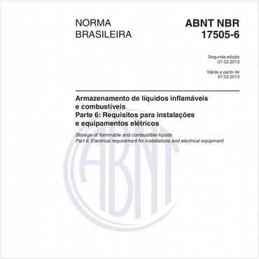 NBR17505-6 de 02/2013