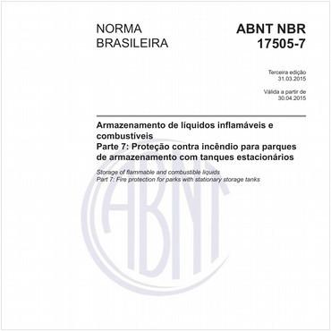 NBR17505-7 de 03/2015