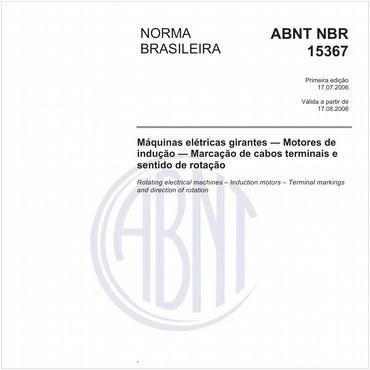 NBR15367 de 07/2006