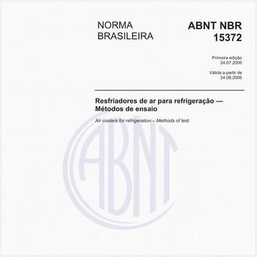 NBR15372 de 07/2006