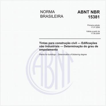 NBR15381 de 07/2006