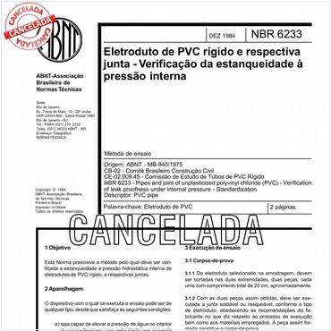 NBR6233 de 12/1984