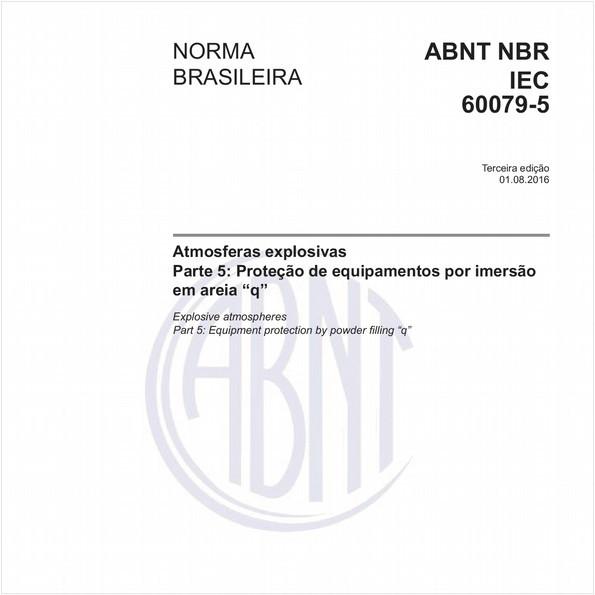NBRIEC60079-5 de 08/2016