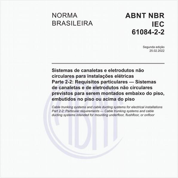 NBRIEC61084-2-2 de 07/2006