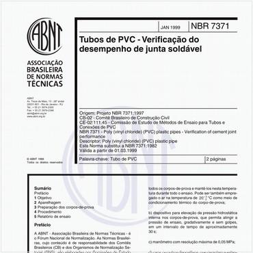 NBR7371 de 01/1999