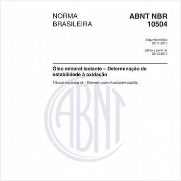 NBR10504 de 11/2010