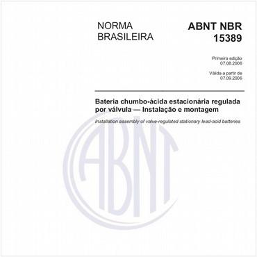 NBR15389 de 08/2006