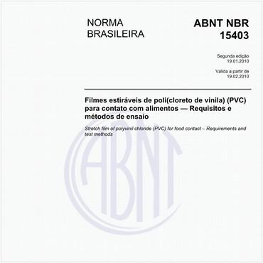 NBR15403 de 01/2010
