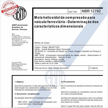 NBR12792 de 12/1993
