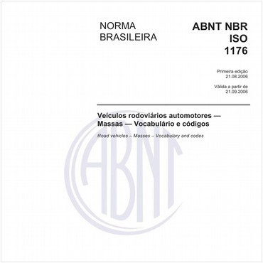 NBRISO1176 de 08/2006
