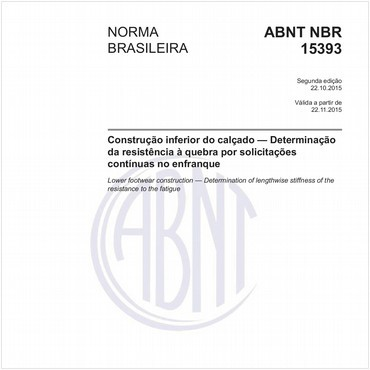 NBR15393 de 10/2015