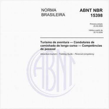 NBR15398 de 09/2006