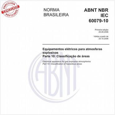 NBRIEC60079-10 de 09/2006