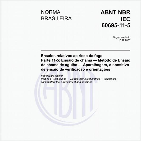 NBRIEC60695-11-5 de 12/2020