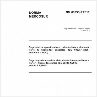 NM60335-1 de 01/2010