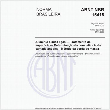 NBR15418 de 04/2009
