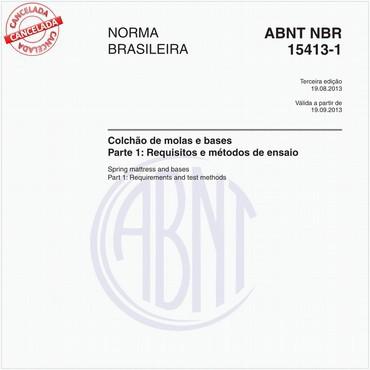 NBR15413-1 de 08/2013
