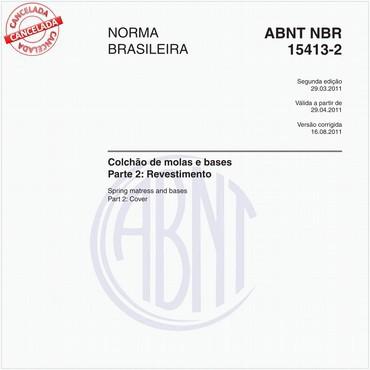 NBR15413-2 de 03/2011