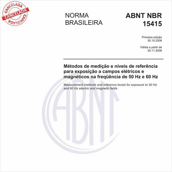 NBR15415 de 01/2016
