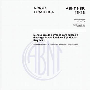 NBR15416 de 10/2006