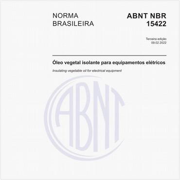 NBR15422 de 11/2015