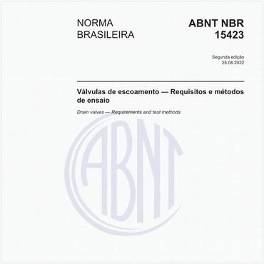 NBR15423 de 10/2006