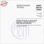 ABNT ISO/TS22004