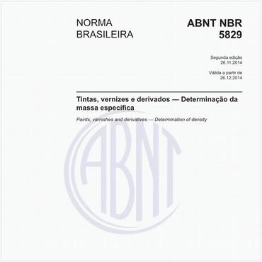 NBR5829 de 11/2014