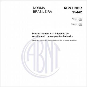 NBR15442 de 11/2006