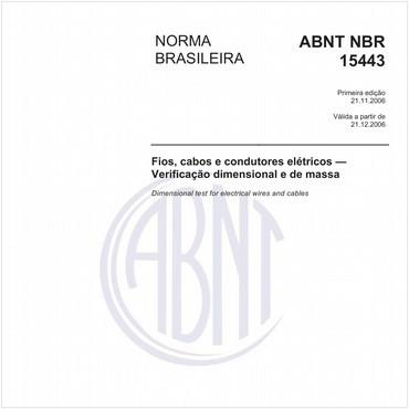 NBR15443 de 11/2006