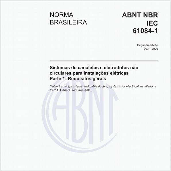 NBRIEC61084-1 de 11/2006