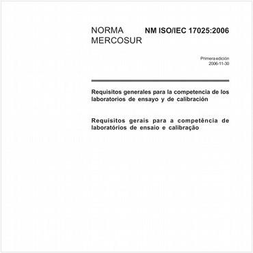 NM-ISO/IEC17025 de 11/2006