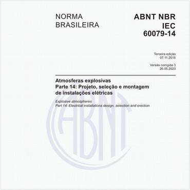 NBRIEC60079-14 de 11/2016