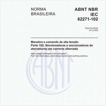 NBRIEC62271-102 de 12/2006