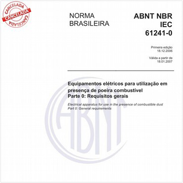 NBRIEC61241-0 de 12/2006