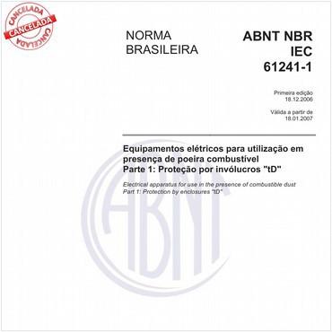 NBRIEC61241-1 de 12/2006