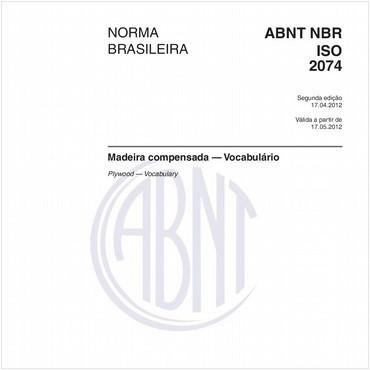 NBRISO2074 de 04/2012
