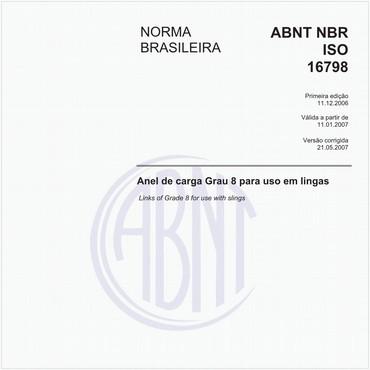 NBRISO16798 de 12/2006